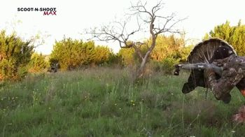 Mojo Outdoors Scoot-N-Shoot MAX TV Spot, 'Most Realistic Turkey Decoy'