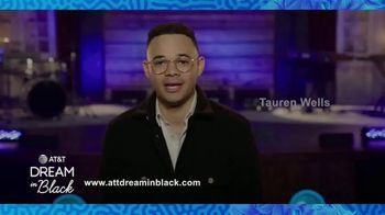 AT&T Inc. TV Spot, 'Dream in Black: Tauren Wells' - Thumbnail 3