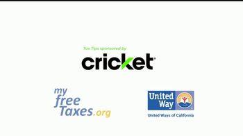 Cricket Wireless TV Spot, 'Tax Tips' - Thumbnail 1