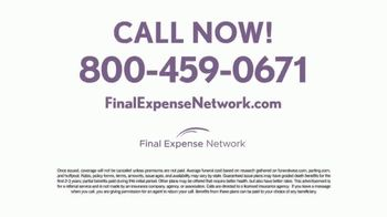 Final Expense Network TV Spot, 'When the Time Comes' - Thumbnail 9