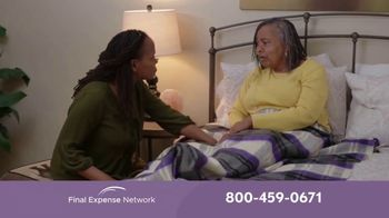 Final Expense Network TV Spot, 'When the Time Comes' - Thumbnail 1