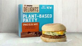 Jimmy Dean Delights Plant-Based Patty, Spinach & Egg White Sandwich TV Spot, 'Tasty New Era'