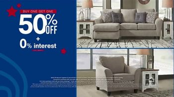Ashley HomeStore Memorial Day Early Access Sale TV Spot, 'Buy One, Get One Half Off, Accent Chair' - Thumbnail 3