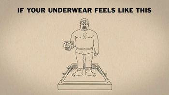 Duluth Trading Company Buck Naked Underwear TV Spot, 'Symphony'