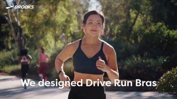 Brooks Running Drive Run Bras TV Spot, 'High-Impact Running'