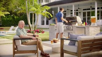 BBQGuys Memorial Day Sale TV Spot, 'Eli Manning Was Born to Grill?' Featuring Archie Manning - Thumbnail 1