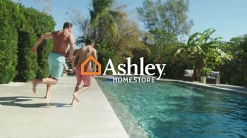 Ashley HomeStore Memorial Day Sale TV Spot, 'Up to 30% Off or No Interest'