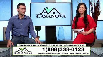 Casanova Renovations TV Spot, 'Techos' [Spanish]