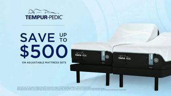 Tempur-Pedic Summer of Sleep TV Spot, 'Transformative Sleep: $500 on Adjustable Sets' - Thumbnail 10