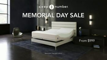 Sleep Number Memorial Day Sale TV Spot, 'Dad-Powering: Save $1,000'