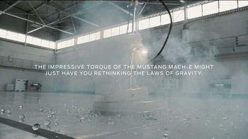 2021 Ford Mustang Mach-E TV Spot, 'Mach-E vs. Gravity: Torque' [T1] - Thumbnail 6