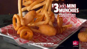 Jack in the Box Jack's Mini Munchies TV Spot, 'Mac & Cheese: One More Bite: $3' - Thumbnail 5