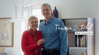 California Closets TV Spot, 'Tammie & Phil: Attention to Detail'