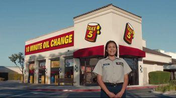 Take 5 Oil Change TV Spot, 'Eyebrows' - Thumbnail 1