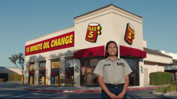 Take 5 Oil Change TV Spot, 'Eyebrows' - Thumbnail 2