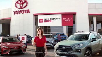 Toyota Summer Starts Here TV Spot, 'Ice Cream' [T2] - 2 commercial airings