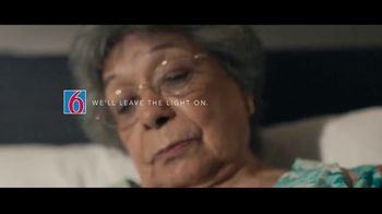 Motel 6 TV Spot, 'We'll Leave the Light On for Abuela & Tito' - Thumbnail 1