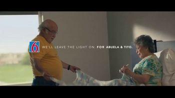 Motel 6 TV Spot, 'We'll Leave the Light On for Abuela & Tito' - Thumbnail 2
