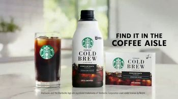 Starbucks Cold Brew Concentrate TV Spot, 'Smooth, Delicious, Perfectly Yours' - Thumbnail 9