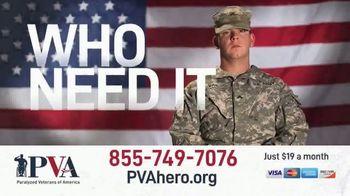 Paralyzed Veterans of America TV Spot, '10,000 Hours' - Thumbnail 3