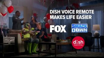Dish Network TV Spot, 'WWE Surprise Party' Featuring Big E, Sasha Banks, Rey Mysterio