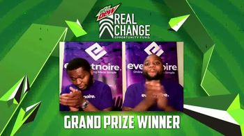 Mountain Dew TV Spot, 'Real Change Opportunity Fund: Winners' - 19 commercial airings