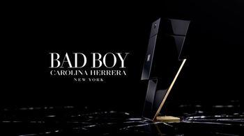 Carolina Herrera Bad Boy TV Spot, 'Lightning' Featuring Karlie Kloss, Ed Skrein, Song by Chris Isaak - Thumbnail 10