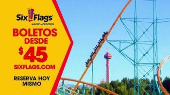 Six Flags Magic Mountain TV Spot, 'Las montañas rusas más emocionantes' [Spanish] - Thumbnail 8