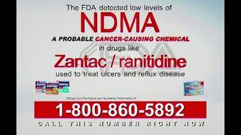 Legal Help Line TV Spot, 'Cancer: Ranitidine' - Thumbnail 2
