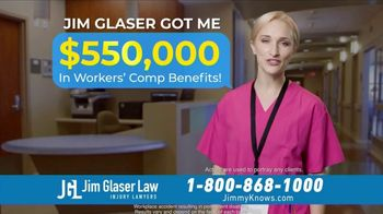 Jim Glaser Law TV Spot, 'Workers' Comp: After Retiring' - Thumbnail 7