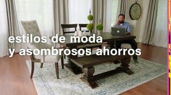 Ashley HomeStore Swing Into Summer Sale! TV Spot, 'Estilos de verano' [Spanish]