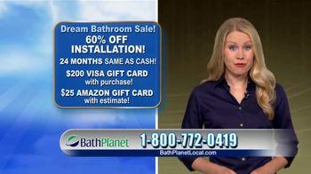 Bath Planet of Chicago Dream Bathroom Sale TV Spot, '60% Off Installation' - Thumbnail 10