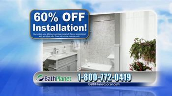 Bath Planet of Chicago Dream Bathroom Sale TV Spot, '60% Off Installation' - Thumbnail 7