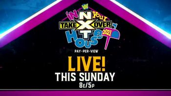 Peacock TV TV Spot, 'NXT TakeOver: In Your House' - Thumbnail 8