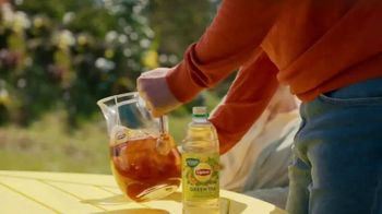 Lipton TV Spot, 'Stop Chuggin' Start Sippin'' Song by Raphael Gualazzi