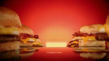 Wendy's Breakfast TV Spot, 'Tomorrow: Baconator' - Thumbnail 10