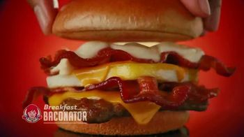 Wendy's Breakfast TV Spot, 'Tomorrow: Baconator' - Thumbnail 5
