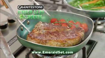 Granite Stone Emerald Green TV Spot, 'Non-Stick: Knife Set'