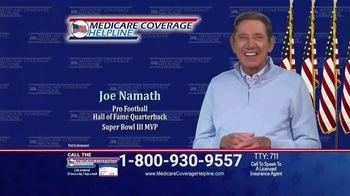 Medicare Coverage Helpline TV Spot, 'New Benefits: Expended Dental Work' Featuring Joe Namath
