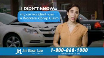 Jim Glaser Law TV Spot, 'Car Accident: Worker's Compensation' - Thumbnail 2