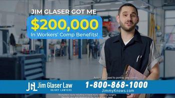 Jim Glaser Law TV Spot, 'Car Accident: Worker's Compensation' - Thumbnail 8