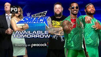 Peacock TV TV Spot, 'WWE Talking Smack' - Thumbnail 1