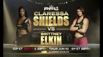 ESPN+ TV Spot, 'Shields vs. Elkin'