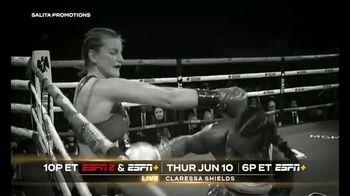 ESPN+ TV Spot, 'Shields vs. Elkin' - Thumbnail 1