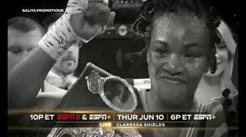 ESPN+ TV Spot, 'Shields vs. Elkin' - Thumbnail 3