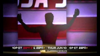 ESPN+ TV Spot, 'Shields vs. Elkin' - Thumbnail 5