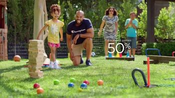Kohl's TV Spot, 'Father's Day: Patio Furniture, Backyard Games and Active Brands' Song by  Oh, Hush!