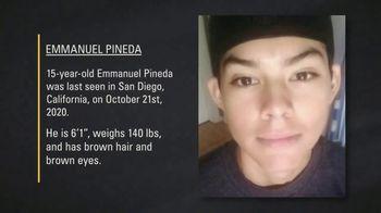 National Center for Missing & Exploited Children TV Spot, 'Emmanuel Pineda'