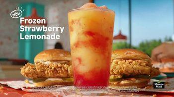 Popeyes Frozen Strawberry Lemonade TV Spot, 'Summer Pairing'