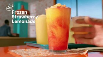 Popeyes Frozen Strawberry Lemonade TV Spot, 'Summer Pairing' - Thumbnail 4